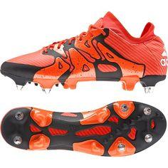 adidas X 15.1 Soft Ground Football Boots Orange, Orange