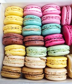 Laduree macarons. Can someone please take me to Paris to get these? Haha