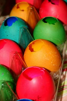 A Fun New Easter Tradition- Cascarones (Confetti filled eggs)