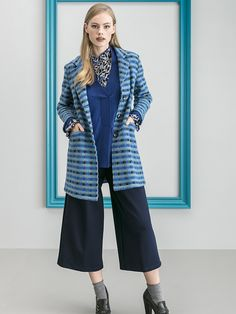 FASHION AT WORK Cerchi idee per i tuoi outfit? Segui Maria Bellentani per scoprire uno stile...senza dress code. Duster Coat, Pants, Jackets, Fashion, Down Jackets, Moda, Trousers, Women Pants, Jacket
