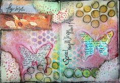 art journal by candy
