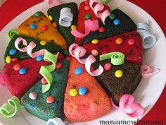 Torta fantasia di Carnevale | ricette carnevale | dolci carnevale |