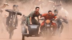 John Abraham and Varun Dhawan [WBRi] The first look of Sajid Nadiadwala's next mega release Dishoom has been revealed and the look has generated a huge buzz among fans. The movie features John Abraham and Varun Dhawan as Kabir and Junaid along with John Abraham, Latest Movie Releases, Latest Movies, Jacqueline Fernandez, Bollywood Updates, Bollywood News, Varun Dhawan Movies, John Show, Musica