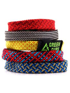 Rock Climbing Party favor - Recycled Climbing Rope Bracelet