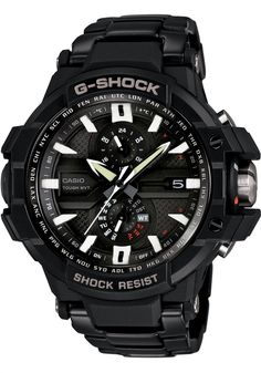 """G-Shock G-Aviation Smart Access Solar Atomic.  Until recently in the watch-obsessed portion of my life, I never gave G-Shocks a second glance.  Now, however, I'm beginning to find I really like a lot of them.  It could have something to do with all of the chemically enhanced """"inner exploration"""" I did in college finally catching up to me.  Or, maybe I'm just starting to appreciate that these are tough, inexpensive, and good-looking watches."""