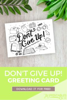 Hello Friends! Today we bring you a fun little printable hand lettered + ink illustrated greeting card. Our family just moved to a new state, so we don't know many people!…