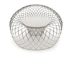 Reverb wire chair designer Brodie Neill