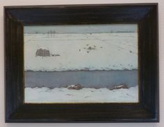 Jan Mankes in Kunstzaal de Rietvink, Wassenaar, 1927 Art Design, Embedded Image Permalink, Museum, Frame, Landscapes, Home Decor, Paintings, Pendant, Winter