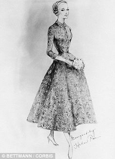 1000 images about helen rose on pinterest helen rose Grace kelly wedding dress design