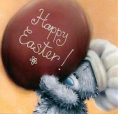 Tatty Teddy Bear - Happy Easter