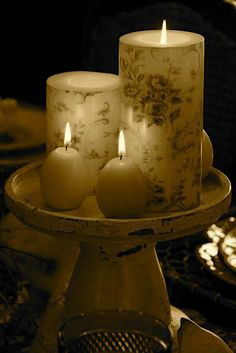"""Let's celebrate the new year with """"Candle Glow"""""""