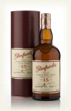 I've just bought this bottle of Glenfarclas 15 Year Old