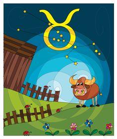Say hello to Taurus! :-) #HAPIdesign #zodiac #sign #zodiacsign #taurus #smile #happy #kids #cute #instalike #instafollow #drawing #digital #wacom #tablet #spiral #mandala