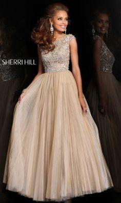 Sherri Hill - Dresses Junior year lead out-- blue