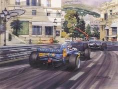 Mônaco 95, Benetton Schummacher.
