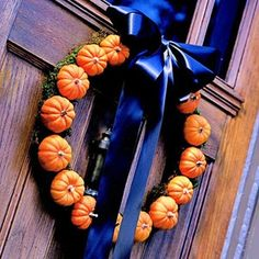 Pumpkins for the Pumpkin Carving Challenged- lots of ideas for decorating with pumpkins!