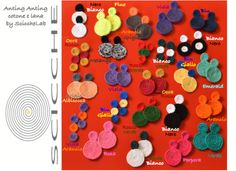 Anting Anting  colors available http://it.dawanda.com/product/63096071-Orecchini-Spirale-Anting-Anting