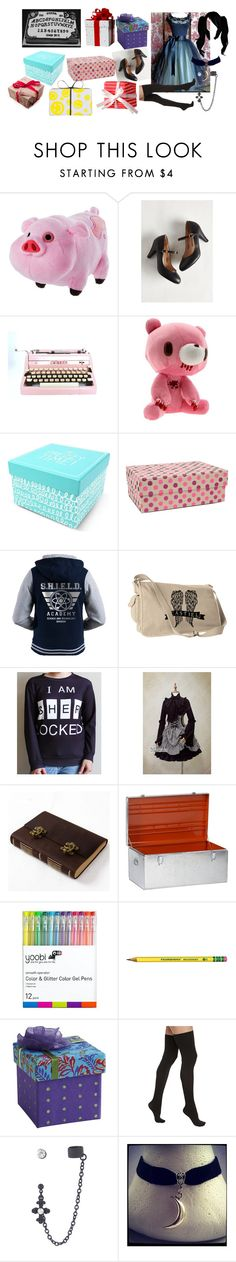 """""""Is my birthday!!"""" by my-bullte-blood ❤ liked on Polyvore featuring Disney, Modern Vintage, Happy Jackson, Vivid Wrap, CB2, Yoobi, Pier 1 Imports and Commando"""