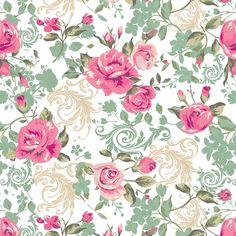 Papel de Parede Floral Primavera   JMI DECOR   Elo7