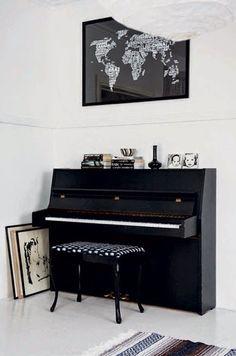 Avoir un piano et apprendre à en jouer