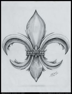 Fleur de Lis I think I met this artist in the French Quarter