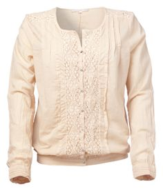 YAYA SPRING/SUMMER 2014 Summer 2014, Spring Summer, Lace Detail, Sweaters, Tops, Fashion, Down Vest, Moda, Fashion Styles