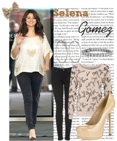 """Celebrity Style: Selena Gomez"" by straightuphustlergirl ❤ liked on Polyvore"