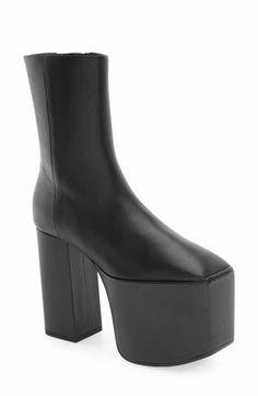 Balenciaga Platform Bootie (Women)
