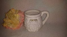 Vintage 3D Santa Coffee Cup,  Santa Cup,  Santa Claus Mug, Retro 3D Santa Mug, White  Santa Claus Coffee Mug, Christmas, Bottle Brush, Cocoa by JunkYardBlonde on Etsy