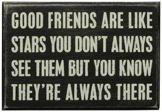 Good Friends Are Like Stars Box Sign Puukyltti AllPosters.fi-sivustossa