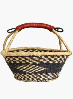 Its time for spring cleaning and organization! Pick up this Ghana Woven Diamond Basket to tidy up in style. $36 www.mooreaseal.com