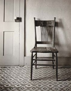 Straightback Chair, Home Place, 1947 photographer, Wright Morris