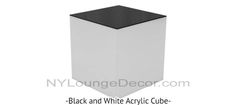 NY LOUNGE DECOR | Cubes and Coffee Tables