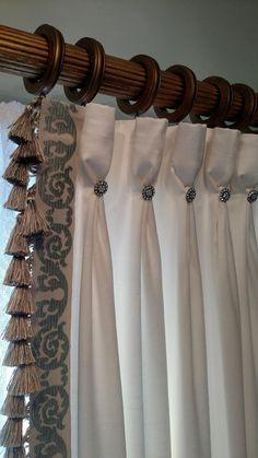 Unique Curtains, Elegant Curtains, Beautiful Curtains, Custom Windows, Custom Curtains, Drapes Curtains, Fancy Curtains, Pinch Pleat Curtains, Valances