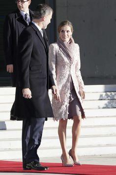 Primer viaje de Estado de los Reyes 25 días después de la formación del nuevo Gobierno a Portugal. 28.11.2016