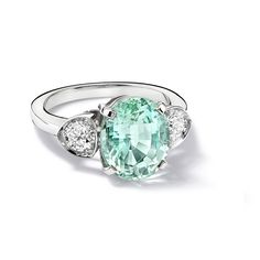 Cressandra Goad....Katie Mint Tourmaline Ring