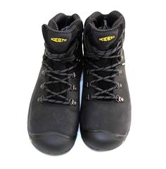 Keen Mens 8 EE Hiking Work Utility Boots  Cleveland Black #Keen #Cleveland