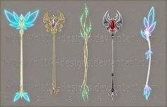 Staff designs 20 by Rittik-Designs on deviantART