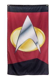 Star Trek Birthday, Star Trek Party, Starfleet Academy, Dorm Room Walls, Wall Banner, Star Banner, Video Clips, Hbo Game Of Thrones, Comic Book Characters
