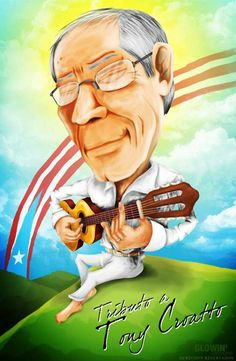 Caricatura Puertorriqueña on Behance Puerto Rico, Puerto Rican Music, Puerto Rican Culture, Caricatures, Movie Posters, Movies, Behance, Fictional Characters, Sleeve