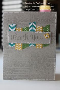 Tape It thank you by andib_75 - Cards and Paper Crafts at Splitcoaststampers