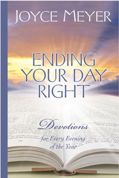 Ending Your Day Right Devotional by Joyce Meyer