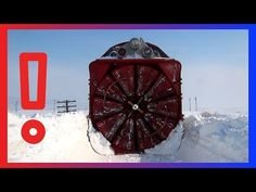 Clearing Railways with Train Rotary Snow Plow - Train snowblower -Train Snow Plow -Snow Blower Train Snow Plow, Rotary, Train, Youtube, Strollers, Youtubers, Youtube Movies