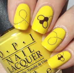 Bee happy decals by nailed kit available at www.hbbeautybar.com