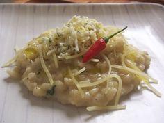 Risoto de 4 queijos - Parmesão, Gorgonzola, Emental e Saint Paulin