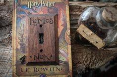 Lumos-Nox Harry Potter light switch wall panel