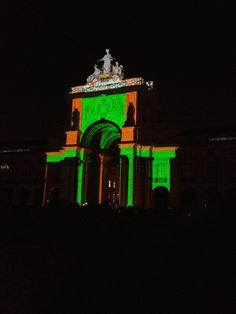 Praça do Comércio luzes