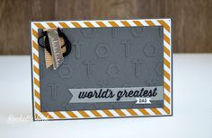 The Stamping Blok: On Stage Display Cards Part 3 - Nailed it and Urban District