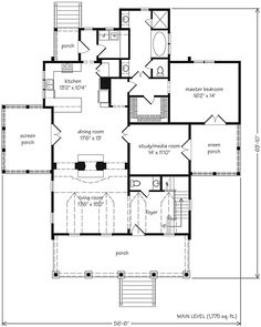 Plan No.112981 House Plans by WestHomePlanners.com | Floorplans ...