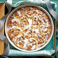 Biscuit Cinnamon Sweet Rolls Recipe---no yeast needed